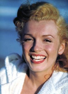 """""""...if you can make a girl laugh, you can make her do anything."""" Marilyn Monroe"""