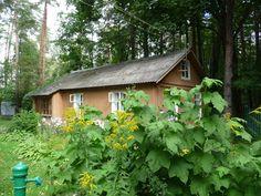 Dacia Pasternak a Peredelkino, casetta accanto, nel giardino. Ph Simonetta Sandri