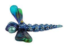 Dragonfly with Swarovski elements