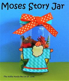 Baby Moses and Watchful Sister  | Bible Class ideas | Preschool