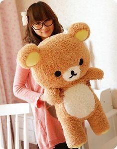 31 Stuffed Kawaii Gift San-x Rilakkuma Relax Bear Pillow Plush Toy Doll