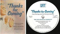 "Waring, Fred (+ The Pennsylvanians) / Thanks For Coming (1978) / GRT 9 DM-16 (Album, 12"" Vinyl) / 4 LP Box Set, $20.00"