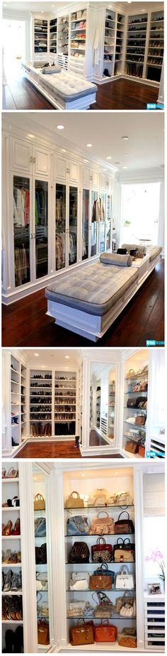Yolanda Foster's Closet ( wife of David Foster) real housewives of Beverly Hills