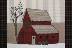 Barn Block of the Month – Finally Finished!! | Cottage Postcards