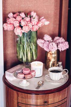 Coffee + Macarons