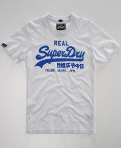 Superdry - Men's Superdry Vintage Entry t-shirt OPTIC // Sale: $20.00 Save: 60% off