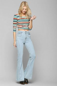 BDG Bell Flare High-Rise  Jean - Jeanie #urbanoutfitters