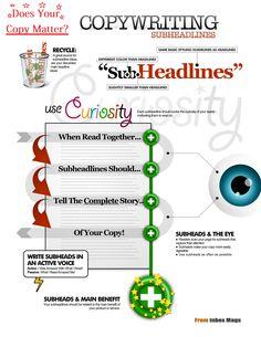 Copywriting & Sub Headlines