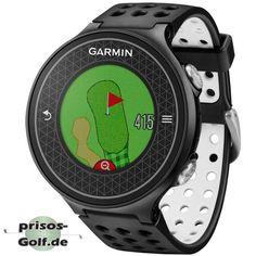 Garmin GPS-Sportuhr Approach S6 Schwarz/Weiß