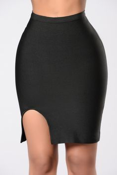There's More Skirt - Black