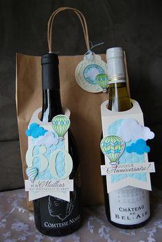 etiquette cadeau pour bouteille scrap - Recherche Google