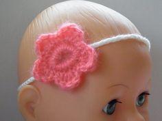 Baby-Haarband   -   Kinder-Haarband von ellyshop auf DaWanda.com