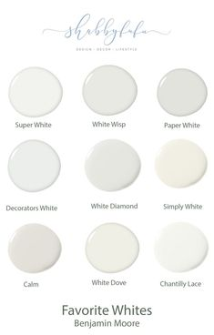 Neutral Paint Shades for Interiors {The Best} How to select the best neutral shades of paint and my favorite white paints from Benjamin Moore. Bedroom Paint Colors, Interior Paint Colors, Paint Colors For Living Room, Paint Colors For Home, House Colors, Off White Paint Colors, Paint Colours, Interior Painting, Neutral Bathroom Colors