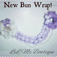 Ribbon Bun Wrap                                                                                                                                                      More