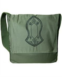 Blessed Sandal. Green Sandal Bag