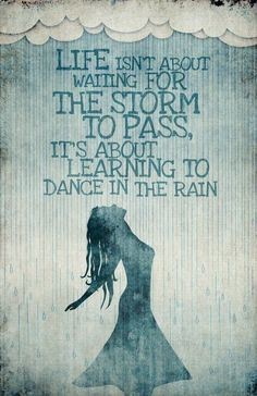 The storm will pass - inspirational quote - find more at www.realfoodwholesomeliving.com