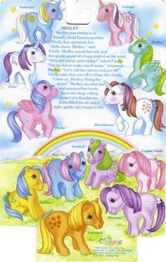 My Little Pony - G1 I had all of these!