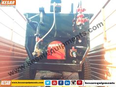 Today We Dispatched Bitumen Emulsion Sprayer With Compressor For Road Dust Cleaning At #Maharashtra,#India