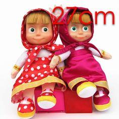 New Arrival Russian masa bear  plush Dolls Baby Children Best Stuffed & Plush Animals Gift -Style have stock #Affiliate