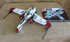 8088 Lego Star Wars complete Arc-170 Starfighter instructions kit fisto minifigs #LEGO