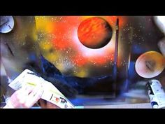 Spray Paint Art LIVE Tutorial: Trees, Planets, and Ground Textures - YouTube