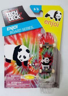 Tech Deck Enjoi Board Series 6/6 Panda FingerBoarding Tie-Dye #panda #techdeck #enjoi #teckdeck #fingerboarding