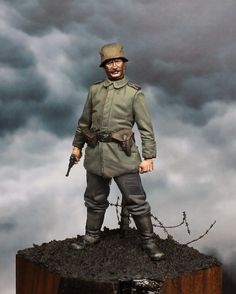Soldado aleman WWI - 54 mm by Juanma Vergara · Putty&Paint