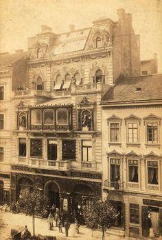 1895, Nagymező utca, 6. kerület Mai Manó ház