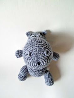 Hipopótamo | AMIGURUMIES