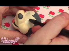 Mickey & Minnie Mouse Fondant Topper Tutorial