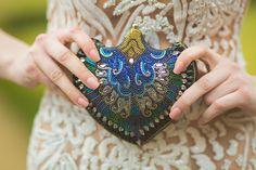 Gold & Blue Wedding Sophistication