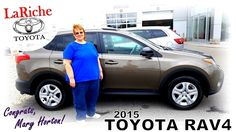 Congrats on getting a 2015 Toyota Rav4 Mary!