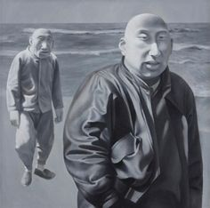 Fang Lijun_Series 1,No.4_1990-91