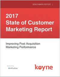 2017 State of Customer Marketing Report