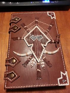 Custom Troll Kindle cover my girlfriend commissioned #worldofwarcraft #blizzard #Hearthstone #wow #Warcraft #BlizzardCS #gaming