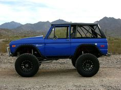 ClassicBroncos.com Photo Gallery - New Paint - Early Bronco Pictures