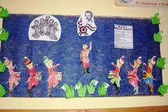 Tavaly készítettük az osztályommal ezeket a faliújságokat.A Nemzeti Múzeum és az emberek a Praktika újság mellékletéből valók.A nagy kokárda Kids Rugs, Blog, Painting, Decor, Art, Art Background, Decoration, Kid Friendly Rugs, Painting Art