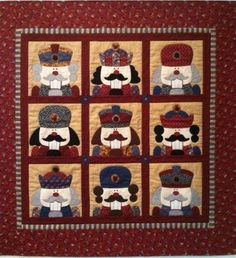 Applique Nutcracker Quilt Pattern   ... Kings as Appliques and ... : nutcracker quilt - Adamdwight.com