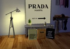 The sims 4 CC Instaglam Deco–> PRADA–>ACNE, LUSH, American Apparel shopping bags–>Starbags paper cupASK INBOX FOR DONLOWADS! WORKS 100%