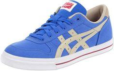 3eb98e3d04e8b Asics Tiger Aaron CV calzado azul beige blanco