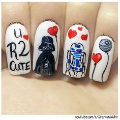 Paula @starrynail Star Wars on Vale...Instagram photo   Websta (Webstagram)