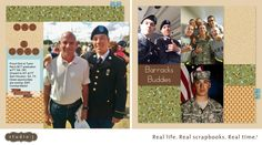 My brother, Karl, attended Ty's BCT graduation. Way to go, Ty! So proud of you.  #CTMH #StudioJ