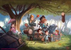 The characters from Firefly re-imagined as children.