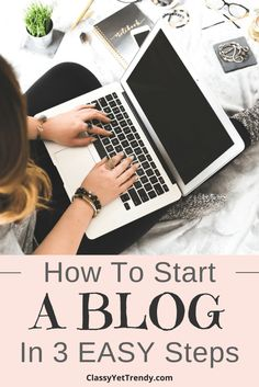 How To Start A Blog In 3 Easy Steps. Start your own blog to share your life experiences, offer advice, share ideas, monetize and make passive income. You may even expand your blog to become a business.