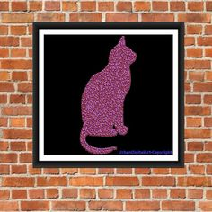 Cat Art-LOW COST-Downloadable Fine Art  by UrbanDigitalArt on Etsy