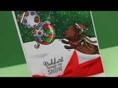 Happy Howlidays – Holiday Background – Sandy Allnock