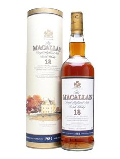 Macallan 1984-18 Year Old