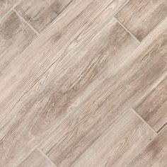 Shelburne Cinder Wood Plank Porcelain Tile - 8 x 48 - 100105881 Wood Look Tile Floor, Faux Wood Tiles, Wood Tile Floors, Ceramic Floor Tiles, Wood Planks, Porcelain Tile, Hardwood Floors, Plank Tile Flooring, Commercial Flooring