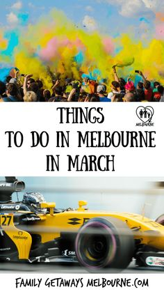 Things to do in March in Melbourne, huge choice to fill your weekends up this month! Moomba is on! Come celebrate comedy, food, wine and diverse cultures. Melbourne Tourism, Melbourne Australia, November Calendar, March, Car Competitions, Queen Victoria Market, Stuff To Do, Things To Do, Australian Grand Prix