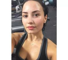 Demi is the queen of natural beauty